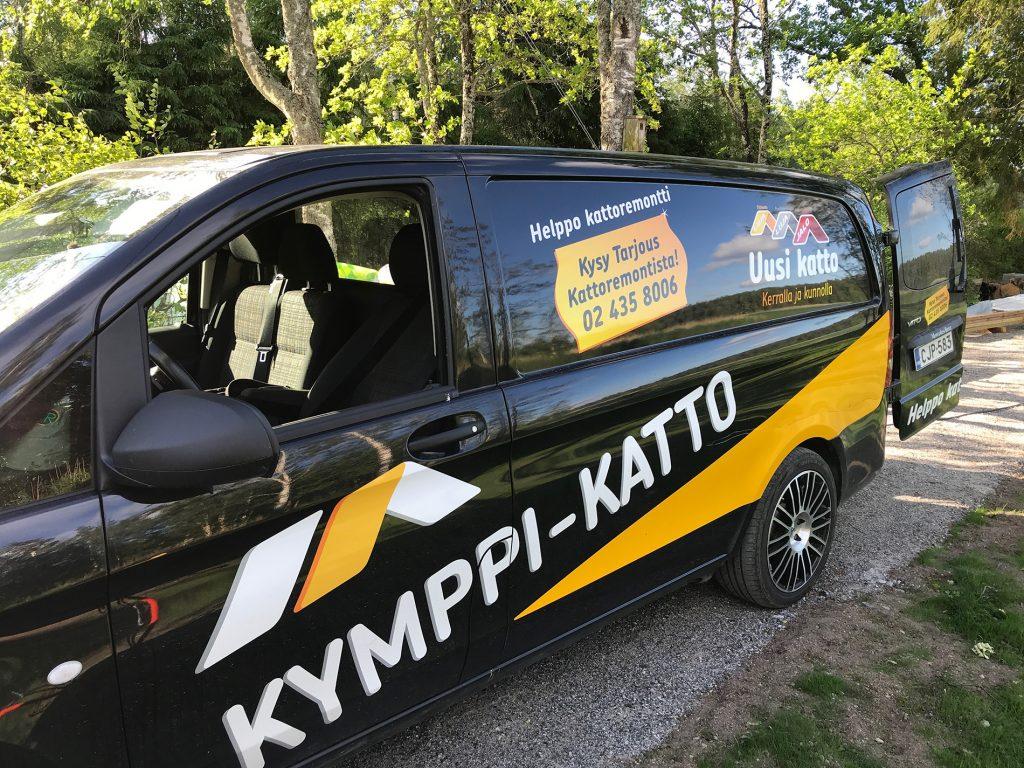 Kymppi-Katon auto