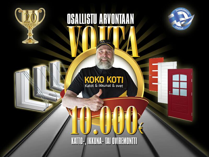 Voita 10 000 €